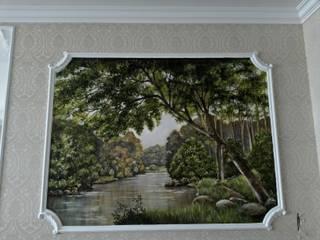 пейзаж: Гостиная в . Автор – Абрикос