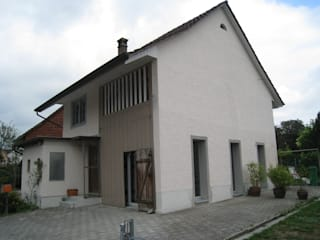 Casas de estilo rústico de Binder Architektur AG Rústico