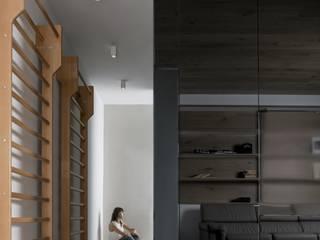 Minimalistischer Flur, Diele & Treppenhaus von Mohamed Keilani Architect Minimalistisch