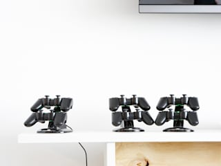 Salas multimedia de estilo  por Studio Uwe Gaertner Interior Design & Photography