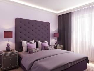 Квартира на ул. Краснобогатырская Спальня в классическом стиле от Tina Gurevich Классический
