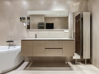 Modern bathroom by Pixcity Modern