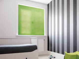 Plissee & Sonnenschutz: Passgenau Systemlösungen für maximalen Wohnkomfort: modern  von Livoneo,Modern