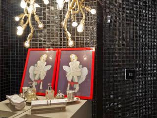 H2C Arquitetura Ванная комната в эклектичном стиле