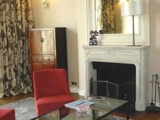 Appartement ART DECO PARIS Salon classique par Christine Fath architecte d'intérieur CFAI Classique