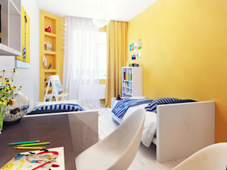 Minimalist nursery/kids room by Оксана Мухина Minimalist