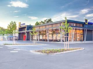 Centros comerciales modernos de Planungsbüro Schubert, Architektur & Freiraum Moderno