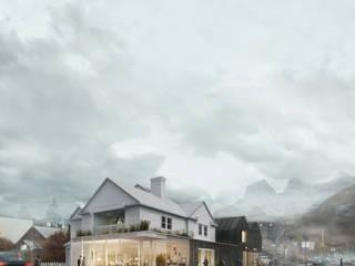 Snow Catcher Casas de estilo escandinavo de 4RGO Studio Escandinavo