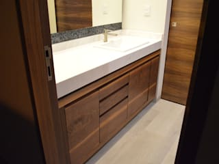 modern Bathroom by Revah Arqs
