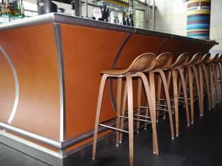 Bartresen Restaurant Hamburg Moderne Gastronomie von möbelwerkstatt hamkens GbR Modern