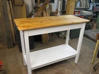 Tisch, Arbeitstisch, Stehtisch aus Altholz von Vollholz - Service Koopmann Landhaus