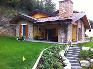 Edil One Bergamo srl 現代房屋設計點子、靈感 & 圖片