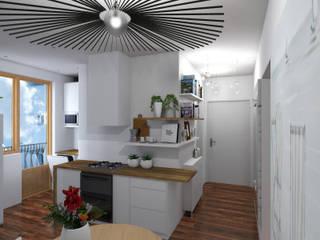 Aménagement d'une cuisine et d'une entrée Cuisine moderne par Denitsa Home Moderne