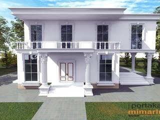 Case moderne di PORTAKAL MİMARLIK MÜHENDİSLİK İNŞAAT RÖLÖVE VE RESTORASYON Moderno