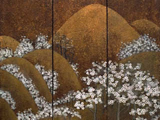 Artwork Inspiration for our Handpainted panels von Eades Bespoke Asiatisch