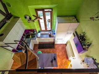 ABITARE CON BRIO Studio Prospettiva Cucina eclettica
