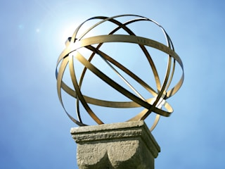 Brass Armillary Sphere:   by Border Sundials Ltd