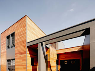 現代房屋設計點子、靈感 & 圖片 根據 Cendrine Deville Jacquot, Architecte DPLG, A²B2D 現代風