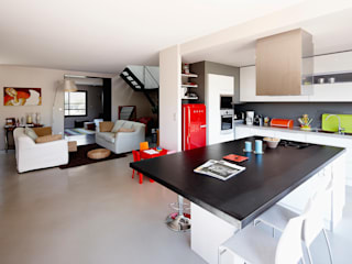 Cendrine Deville Jacquot, Architecte DPLG, A²B2D ห้องครัว