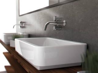 ejemplo sg: Baños de estilo  de SgARQ