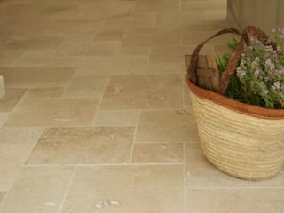 Dapur oleh Floors of Stone Ltd, Rustic