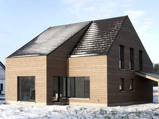 Haus für einen Klimaforscher & Familie Minimalistische Häuser von D/Form Gesellschaft für Architektur + Städtebau mbH Minimalistisch