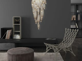 Dolomite LED Wallpaper Chandelier Modern living room by Meystyle Modern