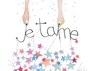 """Illustration  aquarelle """"Je t'aime"""": Chambre de style de style eclectique par Thévy Guex"""