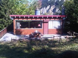 Chalet Courchevel: Maisons de style  par A2 Architecture d'interieur