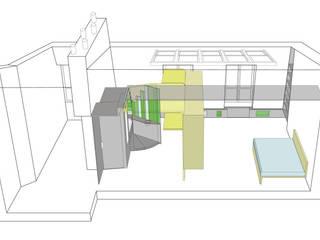 La Case vide / Paris Minimalistische Wohnzimmer von D/Form Gesellschaft für Architektur + Städtebau mbH Minimalistisch