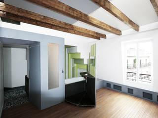 La Case vide / Paris Minimalistische Badezimmer von D/Form Gesellschaft für Architektur + Städtebau mbH Minimalistisch