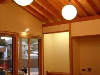和室風景: 株式会社 G proportion アーキテクツが手掛けた和室です。