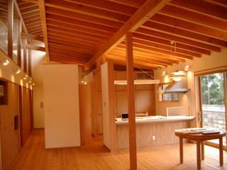 日本人のための家 N様邸: 株式会社 G proportion アーキテクツが手掛けたリビングです。