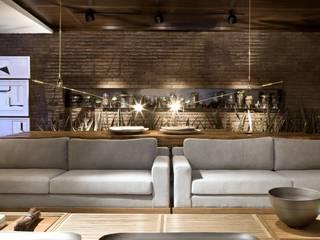 Modern event venues by Ana Paula e Sanderson Arquitetura Modern