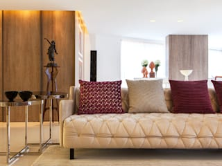 Apartamento 180m² em Boa Viagem:   por André Caricio Arquitetura,