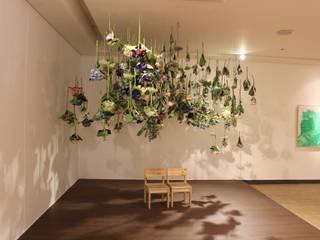 이사하는 정원 전시 - 포토존: 이사하는 정원의