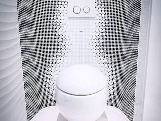 Щупальца Осьминога Ванная комната в стиле модерн от DMYTRO ARANCHII ARCHITECTS Модерн