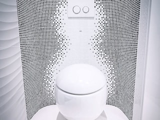 DMYTRO ARANCHII ARCHITECTS Modern style bathrooms