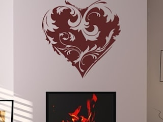Love Hearts: modern  by Icon Wall Stickers, Modern