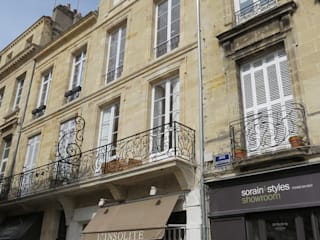 RÉHABILITATION LOGEMENTS COLLECTIFS: Maisons de style  par Cendrine Deville Jacquot, Architecte DPLG, A²B2D