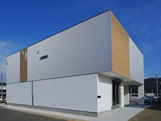 Casas de estilo moderno de 開建築設計事務所 Moderno