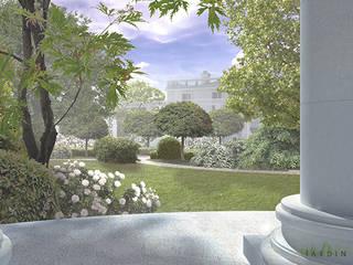 Park we Francji od Autorska Pracownia Architektury Krajobrazu Jardin Klasyczny