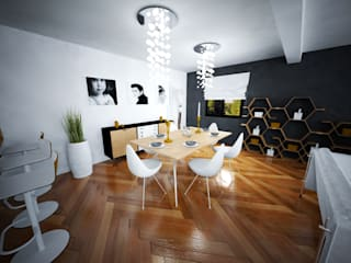Dining room by AD2, Eclectic