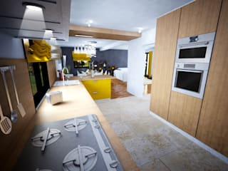 Kitchen by AD2, Eclectic