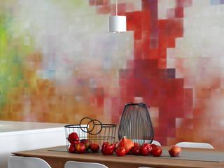 Murale: styl , w kategorii  zaprojektowany przez Pracownia Projektowa Hanna Kłyk