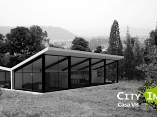 Casa de campo BV de City Ink Design Moderno