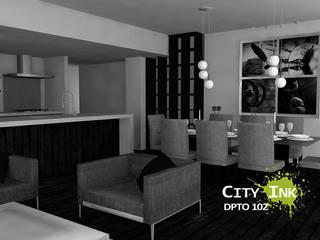 Apartamento 102 de City Ink Design Moderno