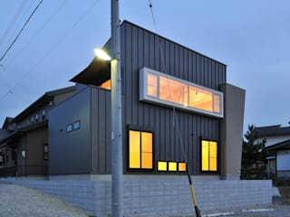 若山建築設計事務所 Modern houses
