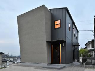 若山建築設計事務所 모던스타일 주택