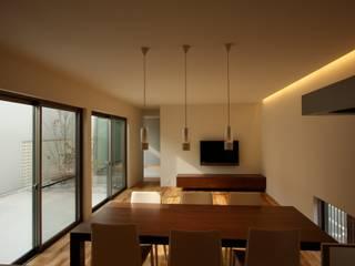Moderne eetkamers van C-design吉内建築アトリエ Modern